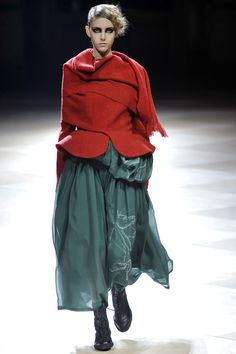 Yohji Yamamoto 2008/09 Paris