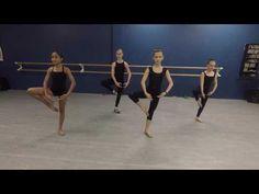 Dance Technique // Across the floor - Leaps, Turns & Extensions - YouTube