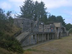 Battery Russell, Fort Stevens State Park, Oregon Coast