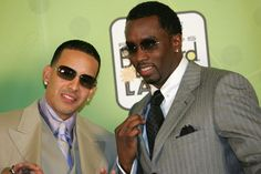 Daddy Yankee Photos Photos - (L-R) Rapper Daddy Yankee and Sean 'P Diddy' Combs poses backstage at 2005 Billboard Latin Music Awards at the Miami Arena April 28, 2005 in Miami, Florida. - 2005 Billboard Latin Music Awards - Pressroom