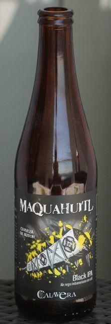 Maquahuitl (black IPA) Calavera