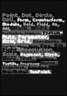 Since the release of FF ThreeSix in 2011, Hamish Muir and Paul McNeil have been busy digging more deeply into the world of parametric type design. The studio published an updated and greatly expanded version of (Muir's old studio gig) 8vo's Interact (1984) in 2013, along with three further experimental...
