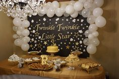 Twinkle Twinkle Little Star Backdrop Decorations
