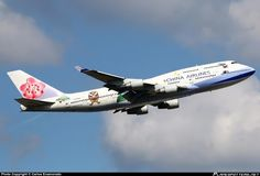 B-18203 China Airlines Boeing 747-409