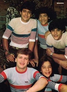Menudo.  I SOOOOO loved these boys. Ray was my fave!!  Just wish I could find my Menudo magazines :(