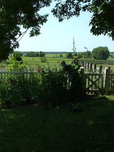 "Inspiration for my novel ""Promise"": Living History Farm, Iowa"