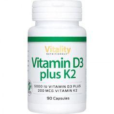 Vitamin D3 5000 plus K2 200 Vitamin D Kapseln