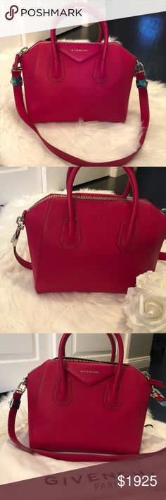 6c1373ad81e2 Givenchy Antigona 100% AUTHENTIC NWOT GIVENCHY ANTIGONA!! Beautiful bag in  a fuchsia pink