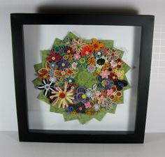 paper quilling wreath