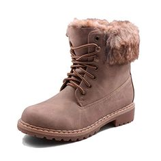 Jumex Damen Winter Schnür Boots mit Kunstfell in Lederoptik gefüttert Schuhe Khaki 36 - http://on-line-kaufen.de/jumex/36-eu-jumex-damen-winter-schnuer-boots-mit-in-2