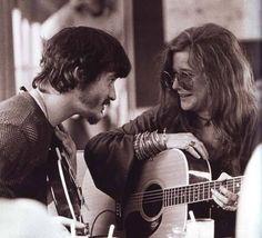 Rick Danko, Janis Joplin, Festival Express 1970.