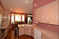 Breakfast nook off of Kitchen. Victorian Decor Done Right! Pink Tile Backsplash. Custom tile in Kitchen. Home For Sale: 6BD 3BA featuring a Lower Level 3BD Apartment! Contact Agent: Dorothy Bell Call/Text 801-493-9090 MLS# 1249942 56 Heron Ct., Saratoga Springs, UT 84045