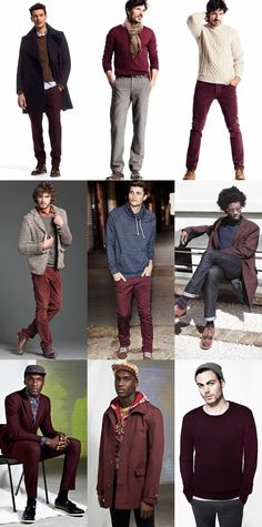 Maroon is my other fave color for this season this year.