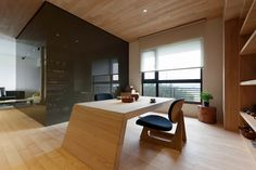 Stylish Open Plan Apartment In Taipei Showcasing Futuristic Design Ideas - http://interior-design.info/stylish-open-plan-apartment-in-taipei-showcasing-futuristic-design-ideas/