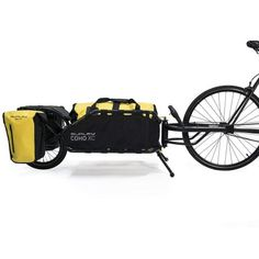 The Coho XC single wheel bike cargo trailer brings durability and thoughtful design to gear-hauling for bike camping, touring and singletrack riding. Mountain Bike Shoes, Mountain Biking, Rando Velo, Bike Cargo Trailer, Cargo Trailers, Cargo Bike, Bici Fixed, Bicycle Maintenance, Cool Bike Accessories