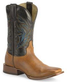 Stetson Tan Cowboy Boots