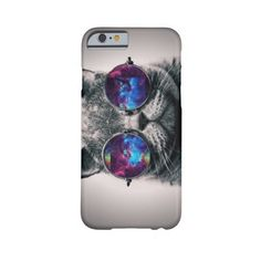 Galaxy Cat iPhone 6 case ($40) ❤ liked on Polyvore featuring accessories and tech accessories