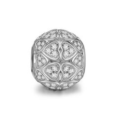 NinaQueen Loyal Love 925 Sterling Silver Charms Bead for women fit pandora charms bracelet Christmas Gifts Birthday…