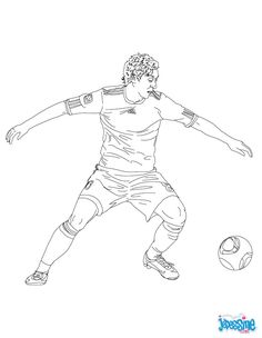 Mesut Özil coloring page. Warm up your imagination and color nicely this Mesut Özil coloring page from SOCCER PLAYERS coloring pages. You can print out . But Football, Cute Presents, Soccer Kits, Oeuvre D'art, Free Printables, Coloring Pages, Activities, Parfait, Fun Crafts