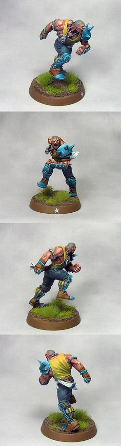 THE MIGHTY ZUG - BLOOD BOWL