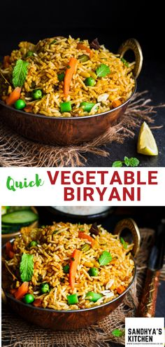 How to make Fool Proof Easy Vegetable Biryani? #biryani #vegetablebiryani #vegbiryani #ricedish #indianrice #rice #vegetables #spicyvegetablebiryani #indianbiryani #easyrice #lunchrecipes #dinnerrecipes #meal