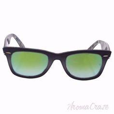 3ba30b0c7145 Ray Ban RB 2140 1199/4J Wayfarer - Grey Black/Green Gradient Flash by Ray  Ban for Unisex - 50-22-150 mm Sunglasses