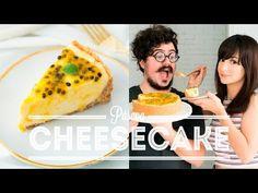 CHEESECAKE FÁCIL DE MARACUJÁ E CHOCOLATE BRANCO | BIGODE SOZINHO NA COZINHA | DANI NOCE - YouTube