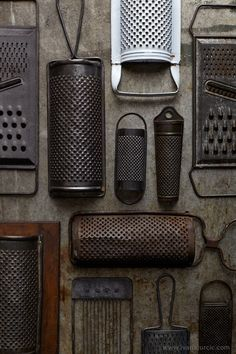 — Ivana Jurcic — Food Photographer — Belgrade, Serbia Collection Of Vintage Graters Collections D'objets, Displaying Collections, Food Photography Props, Vintage Photography, Vintage Props, Vintage Items, Objets Antiques, Ivana, Primitive Kitchen