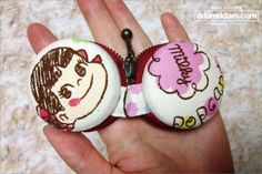 ddamddam.com : blog DIY macaroon coin purse tutorial