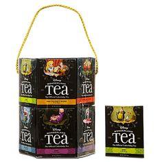 Disney Wonderland Tea - Alice in Wonderland Gift Set - Variety Pack Tea Gift Sets, Tea Gifts, Alice In Wonderland Gifts, Disney Parks Merchandise, Tea Varieties, Tea Packaging, Product Packaging, Tea Box, Disney Food