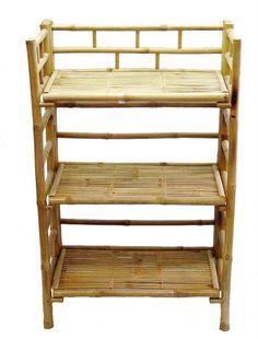 Bamboo54 Bamboo Shelf Cabinet (5404) | ShopLadder