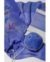 Prayer Shawl Set - Ladies Lilac