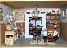 Кухни-миниатюры с дровяными печами | Маргарита Клепцова: камины и печи