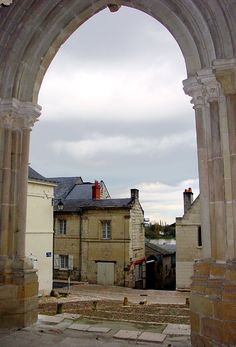 From Saint-Martin Church, the medieval village of Candes-Saint-Martin and the Loire river, France Copyright: Fred Lion