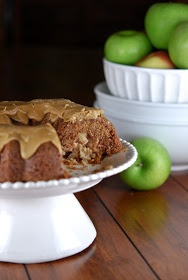 Gonna Want Seconds: Fresh Apple Cake with Caramel Glaze