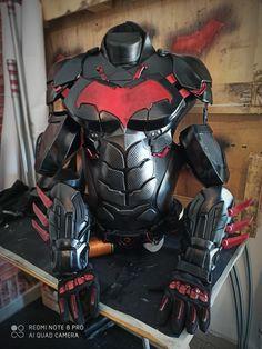 Ninja Armor, Batman Armor, Batman Arkham Knight, Sci Fi Armor, Red Hood Costume, Red Hood Cosplay, Robin Cosplay, Rwby Comic, Comic Manga