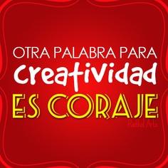 #coraje #creatividad #diseño #grafico
