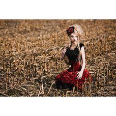 Photographer: Holger Nitschke - LichtReize Hair: Ilka Preuth Model: Anna Absentia