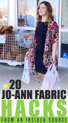 We've got all the secret shopping tips from an insider source. The savings at Jo-Ann Fabric is UNREAL. You'll never shop the same again! Sewing Lessons, Sewing Hacks, Sewing Projects, Cheap Craft Supplies, Life Hacks Every Girl Should Know, Shopping Hacks, Store Hacks, Crafts To Make And Sell, Simple Life Hacks