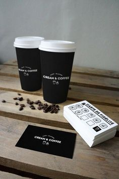 08_two coffee cups and cards mockup #coffeebusiness