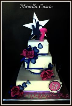 Latin #Ballroom Dance Cake http://dancinfeelin.com/index.html