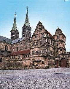 Old Court in Bamberg, Bayern, Germany. yet another castle. :)