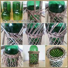 GoldenerWidder | ВКонтакте Weaving Loom Diy, Paper Weaving, Summer Crafts, Fun Crafts, Diy And Crafts, Newspaper Basket, Newspaper Crafts, Magazine Crafts, Weaving Projects