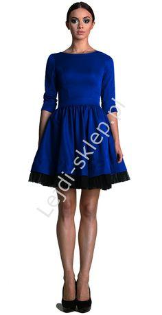 Sukienka studniówkowa z tiulem | sukienki na wesele, karnawał, połowinki mon 250, r. 34 - r.52