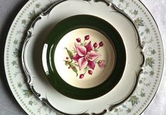 These three vintage china patterns meld together beautifully! - Southern Vintage Table