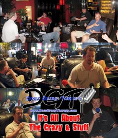 Doc's Group Therapy Comedy Podcast Show (May 2012) - Maduro Cigar Bar & Grill in Little Rock, Arkansas