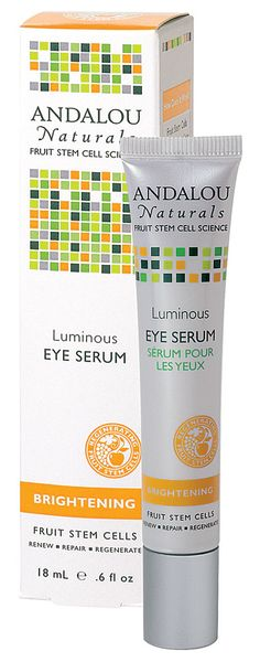 Andalou Naturals Luminous Eye Serum Brightening -- 0.6 fl oz