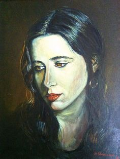 Laura Nyro, a painting in oils by Rolf Christiansen Laura Nyro, Portrait Art, Portraits, Different Media, Make Me Smile, Art Pieces, Illustration, Badass, Singers