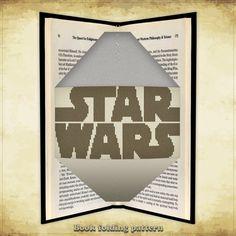 Book folding pattern Star Wars Logo for 242 folds - ID0000395
