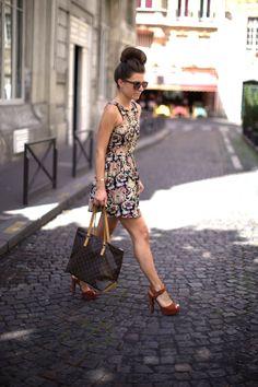 Great dress/heels